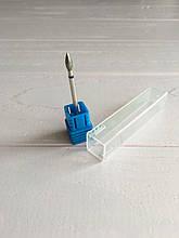 Алмазная маникюрная насадка для фрезера кукуруза Flyme (пика)
