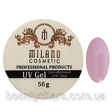 Гель для наращивания Milano однофазный (pink) 56 г