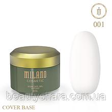 База камуфлирующая Cover Base Milano Luxury №1 30 мл (гипоаллергенная)