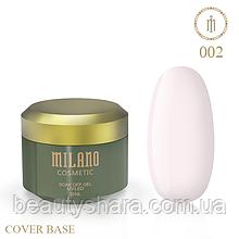 База камуфлирующая Cover Base Milano Luxury №2 30 мл (гипоаллергенная)