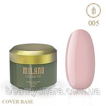 База камуфлирующая Cover Base Milano Luxury №5 30 мл (гипоаллергенная)