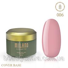 База камуфлирующая Cover Base Milano Luxury №6 30 мл (гипоаллергенная)
