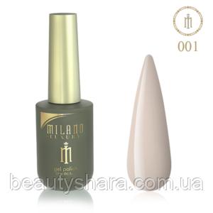 Гель-лак Milano Luxury 15ml  №001