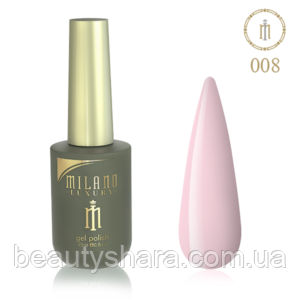 Гель-лак Milano Luxury 15ml  №008