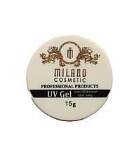Гель для наращивания Milano однофазный (yellowish 2) 15 г