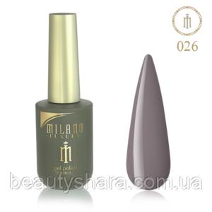 Гель-лак Milano Luxury 15ml  №026
