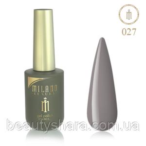 Гель-лак Milano Luxury 15ml   №027
