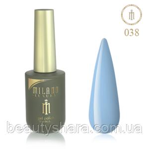 Гель-лак Milano Luxury 15ml  №038