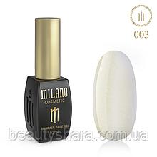 Кавер база Milano з шиммером Cover Shimmer Base 10 мл №03