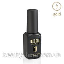 Топ с шиммером Shimmer Gold Milano 12 мл