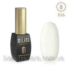 Килим база Milano з шиммером Cover Base 10 мл №16 - базове покриття камуфлирующее