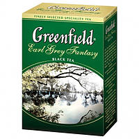 Чай чёрный Greenfield Earl Grey Fantasy Бергамот 100 г.