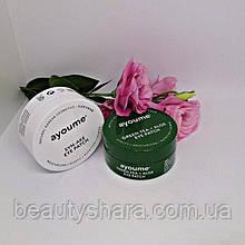 Гидрогелевые патчи  под глаза «Ayoume» Green tea + Aloe