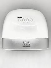 Светодиодная лампа для сушки гель-лака Love Crazy UV+Led, 48 Вт белая