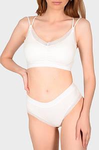 Комплект женский белый размер 44-46 ДМГ 132018P