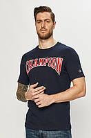 Футболка мужская Champion, темно-синяя чемпион, фото 1
