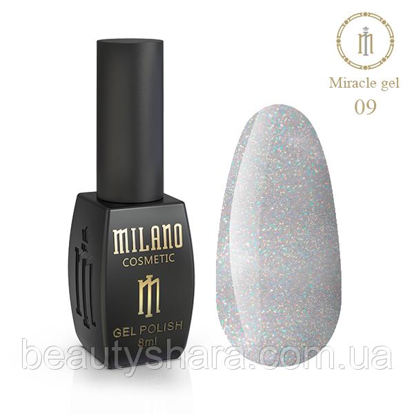 Гель-лак Milano Miracle №9 8ml