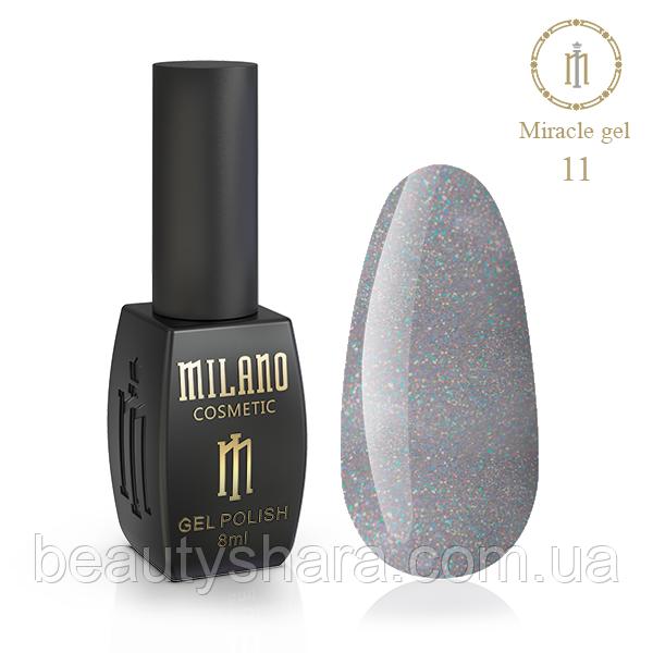 Гель-лак Milano Miracle №11 8ml