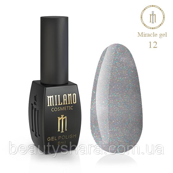 Гель-лак Milano Miracle №12 8ml