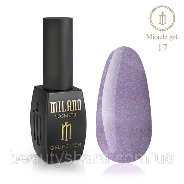 Гель-лак Milano Miracle №17 8ml