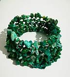Браслет Амазонит, натуральный камень, цвет зеленый и его оттенки, тм Satori \ Sb - 0253, фото 3