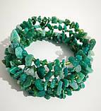 Браслет Амазонит, натуральный камень, цвет зеленый и его оттенки, тм Satori \ Sb - 0253, фото 4