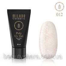 Полигель для ногтей Milano Polygel №12, 30 мл