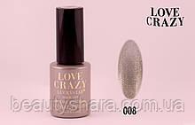 Гель лак LOVE CRAZY 12 мл. #008