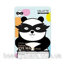Маска от морщин и темных кругов вокруг глаз Milatte Fashiony Black Eye Mask Panda 10 г