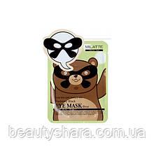 Маска от морщин вокруг глаз Milatte Fashiony Black Eye Mask Panda 10 г