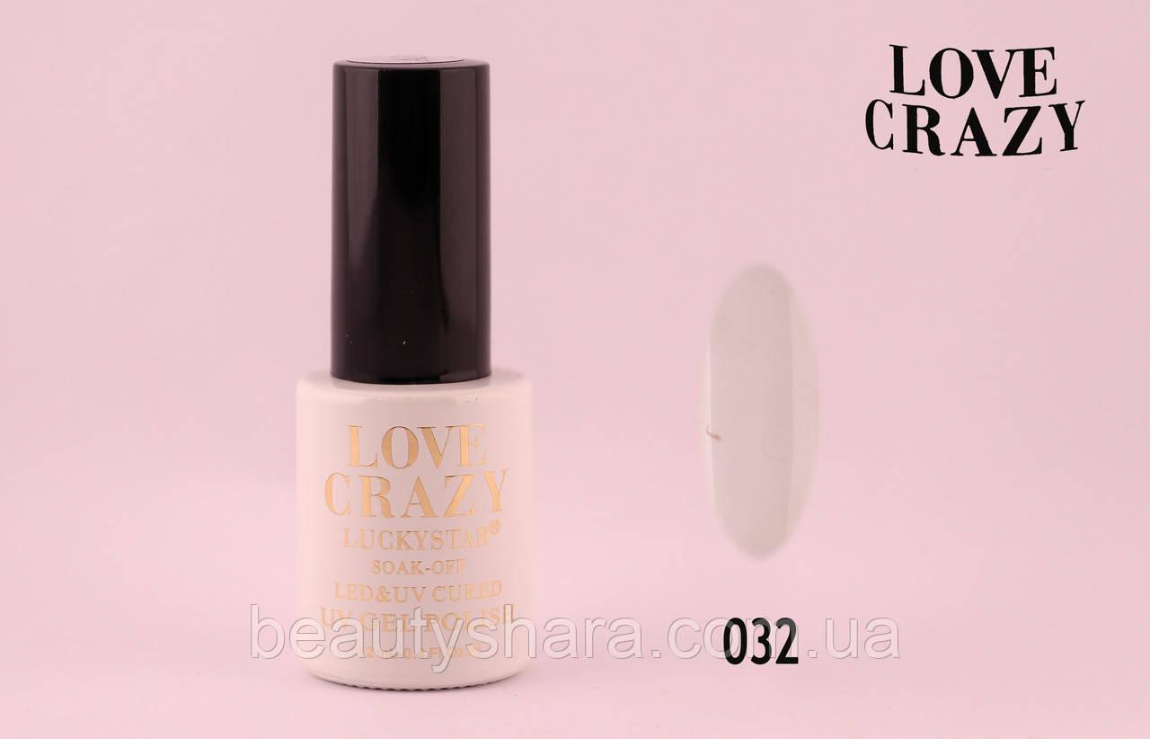 Гель лак LOVE CRAZY 12 мл. #032