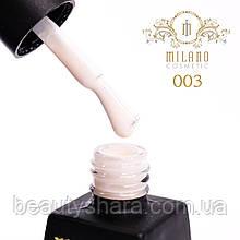 Гель-лак Milano Milk 8 mL №03 (молочный)