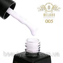 Гель-лак Milano Milk 8 mL №05 (молочный)