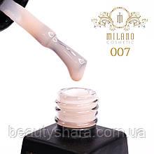 Гель-лак Milano Milk 8 mL №07 (молочный)