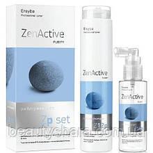 Набор против перхоти Erayba Zp Set ZenActive (шампунь 250 мл и лосьон 250 мл)