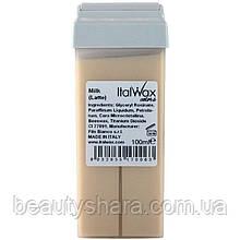 Воск для депиляции в картридже Ital Wax Молоко 100мл