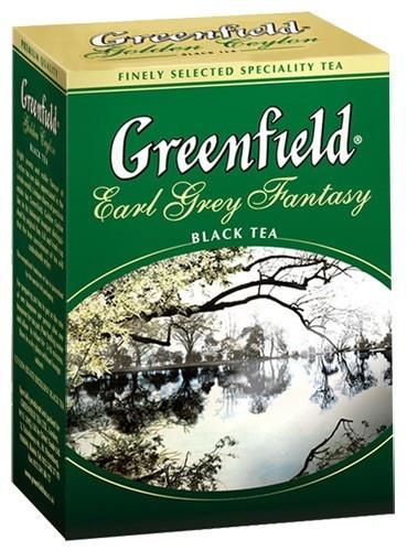 Чай чёрный Greenfield Earl Grey Fantasy 200 г.