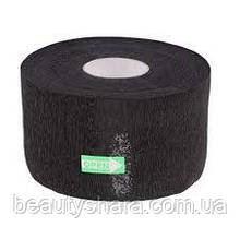 Воротнички для парикмахеров Panni Mlada (100шт/рул) бумажный, черный