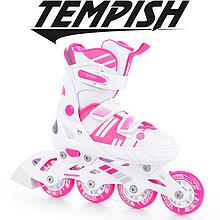 Детские раздвижные роликовые/ледовые коньки Tempish Misty Duo Girl 2в1/37-40