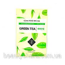 Маска для лица зеленый чай ETUDE HOUSE
