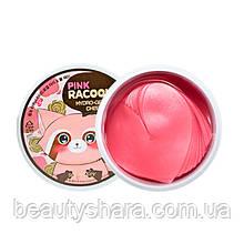 Гидрогелевые патчи для глаз и скул  «Secret Key» Pink Racoony