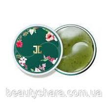 Гидрогелевые патчи под глаза Зеленым Чаем Jayjun Green Tea Eye Gel Patch