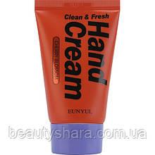 Крем с экстрактом вишни для рук Eunyul Clean and Fresh Cherry Hand Cream 50г