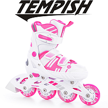 Детские раздвижные роликовые/ледовые коньки Tempish Misty Duo Girl 2в1/29-32