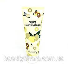 Увлажняющая пенка для умывания с оливой SeaNtree Olive 100 Cleansing