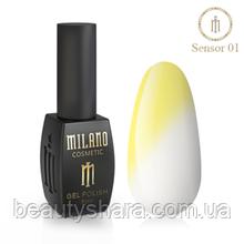 Гель-лак Milano Sensor №01