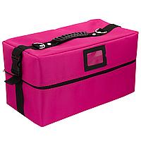 Кейс для майстра манікюру, візажиста, рожевий