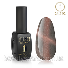 Гель-лак Milano 24D 8 ml №02
