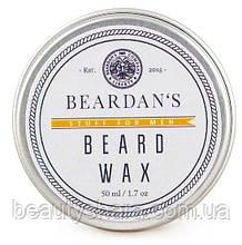 Воск для бороды Beardan's Orange&Vanilla 50 мл