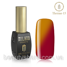 Термо Гель-лак Milano 10 мл №15